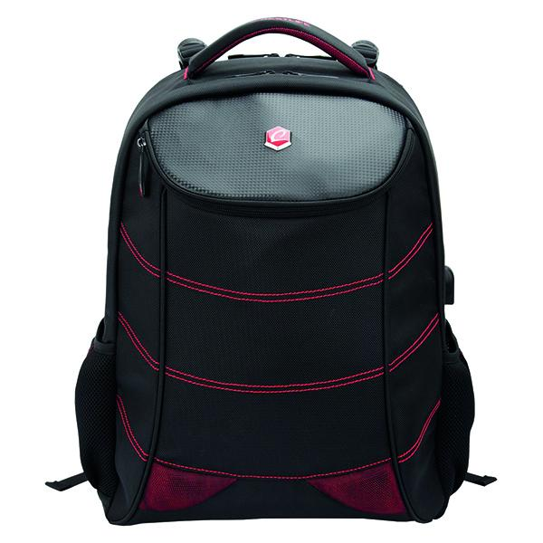 Image of   17 BestLife Gaming Backpack Snake Eye, Black/Red