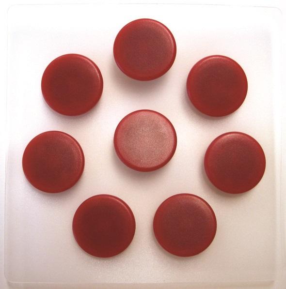 Billede af magneter 25mm rød (7)