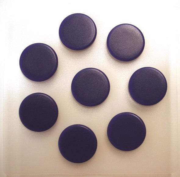 Billede af magneter 25mm blå (7)