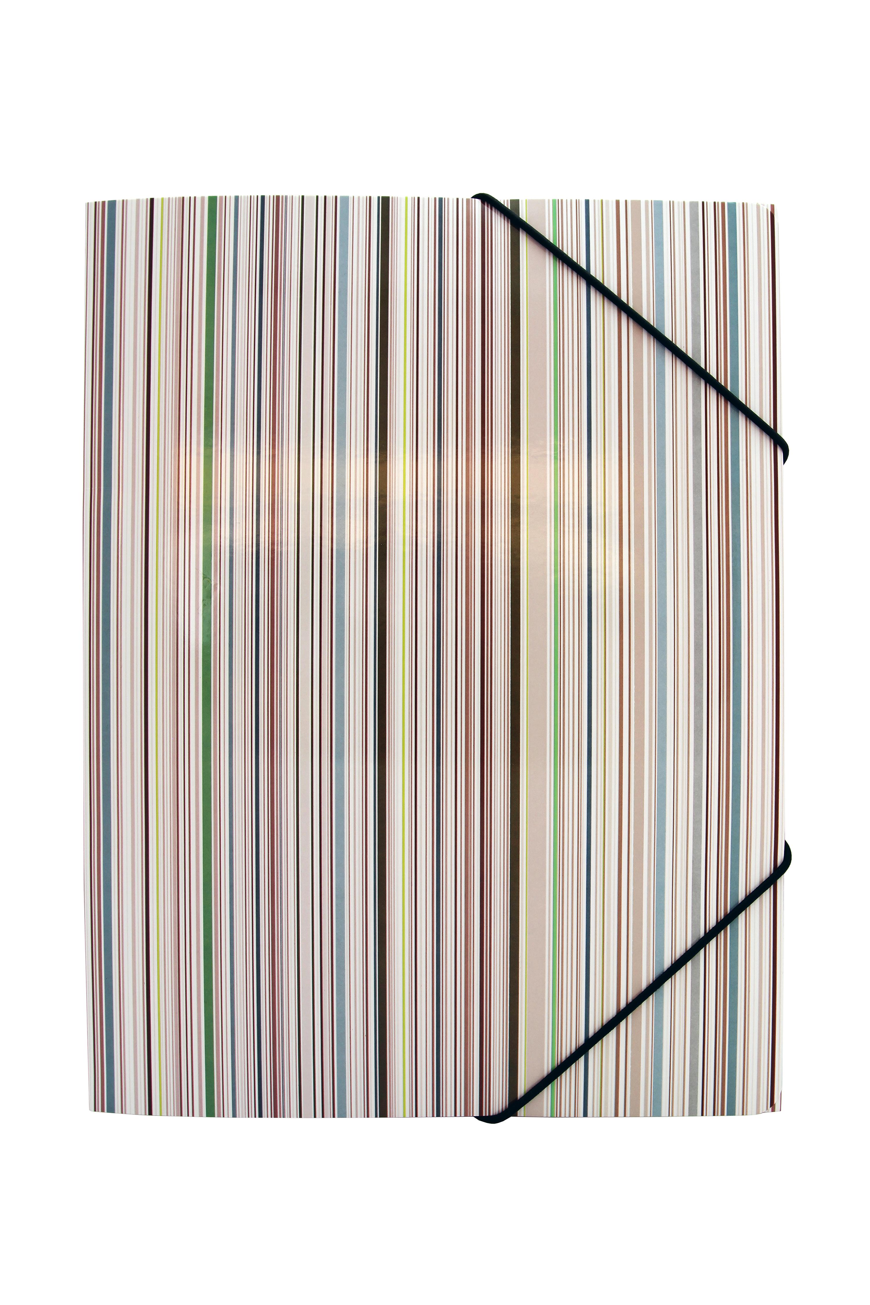 Image of   3-klap elastikmappe A4, karton, Ocean