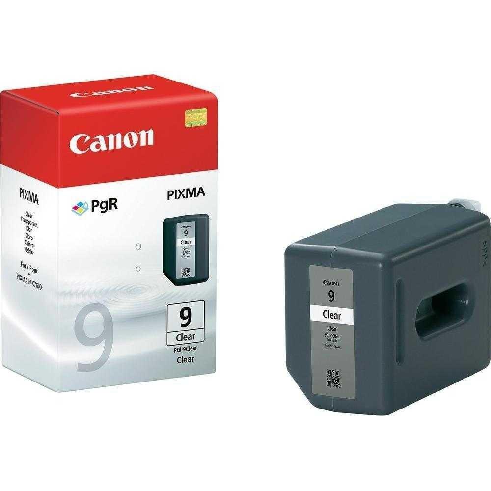 Billede af PGI-9CL clear ink cartridge