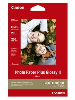 Image of   13x18 PP-201 fotopapir Plus II 275g (20)
