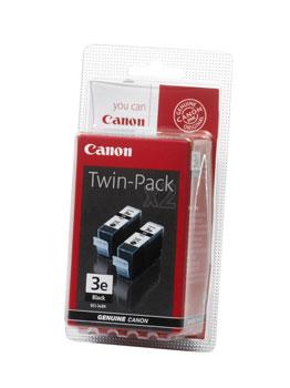Billede af BCI-3eBK black ink tank twin-pack