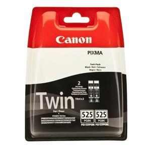 Billede af PGI-525 black ink tank twin-pack