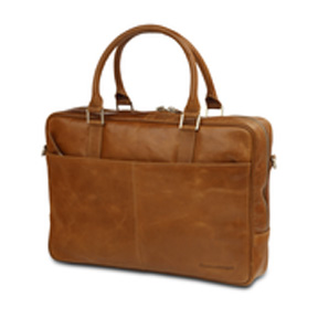 Image of 14 Business Bag Rosenborg,Golden Tan