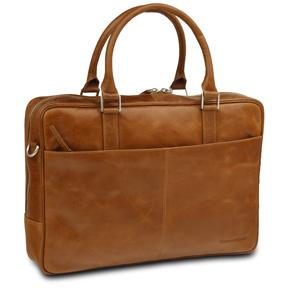 Image of 16 Business Bag Rosenborg,Golden Tan