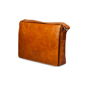 Image of   14 Messenger Bag Marselisborg, Golden Tan