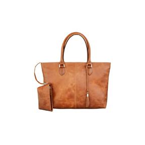 Image of 15 PC Bag Sophie Amalienborg, Golden Tan