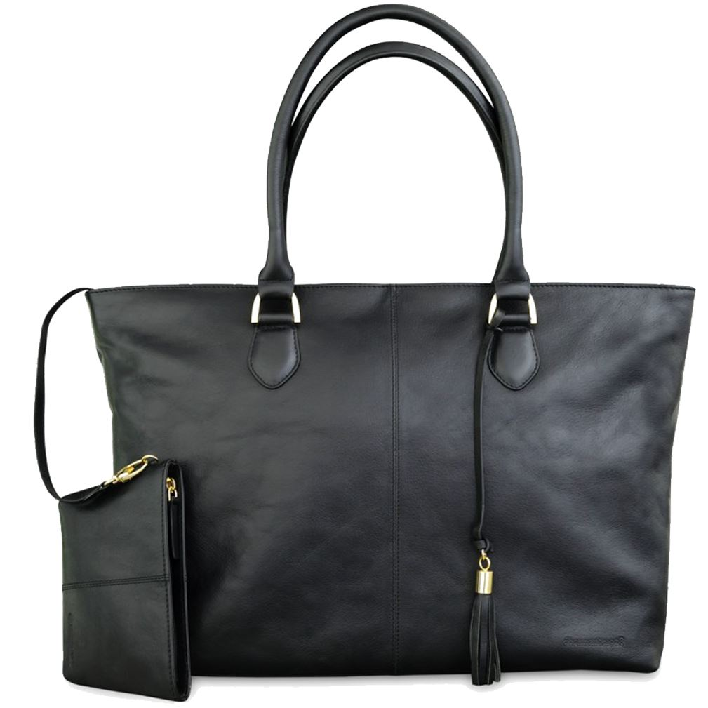 Image of   15'' PC Bag Sophie Amalienborg, Black