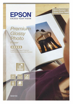 Image of   10x15cm Premium Glossy Photo Paper 255 g (40) - Gold