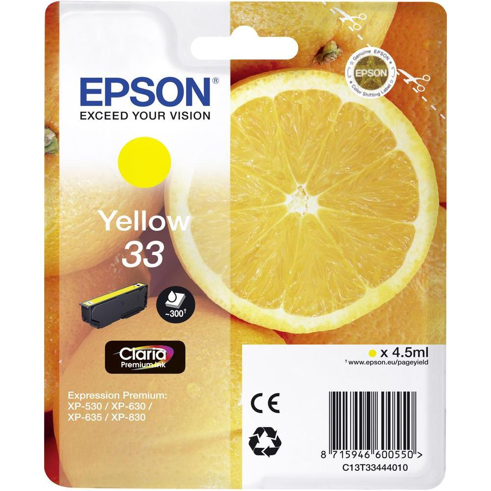 Image of 33 Yellow Claria Premium Ink