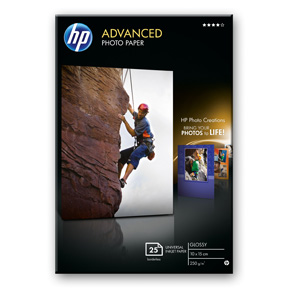 Image of   10x15 Adv. Glossy Photo 250 g/m² (25)