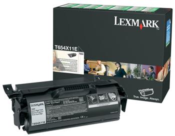 Billede af T654 toner black Extra HC (prebate) 36K