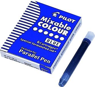 Billede af Patron til Parallel Pen blå (6)
