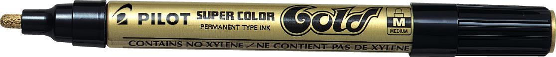 Billede af Marker Super Color Medium 4,5mm guld