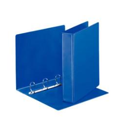 Esselte Panorama ringbind m/2 lom. A4 4DR 40mm blå