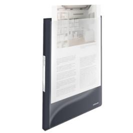 Esselte Vivida panorama displaybog 20 lommer PP A4 sort