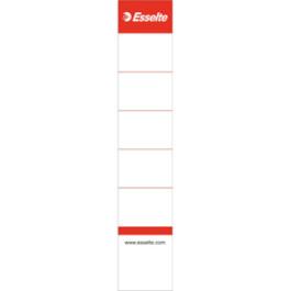 Esselte rygetiketter til 50mm brevordner (100)