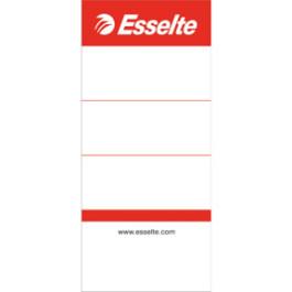 Esselte rygetiketter kort til 75mm brevordner (100)