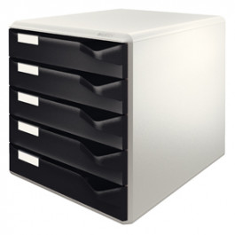 Leitz Post & Form skuffekabinet 5 skuffer PS A4 sort