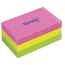 Tartan Notes 76x127mm neon farver