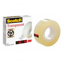 Scotch tape 19mmx3transparent