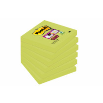 Post-it Super Sticky Notes 76x76 Aqua