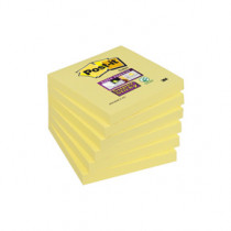 Post-it Super Sticky Notes 76x76 gul