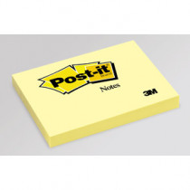 Post-it Notes 76x102 gul