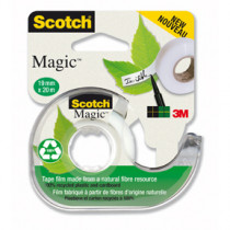 Tape disp. + 1 rl. tape miljø 19mmx20m