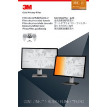 3M Privacy filter for desktop 23,0'' widescreen gold