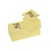 Post-it SS Z-Notes 76x76 gul (12)