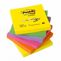 Post-it Z-Notes 76x76 neon (6)
