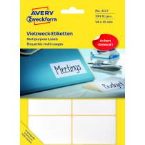 Avery manuel etiket 54x35mm (224)