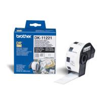 Brother Squared labels 23x23 hvid papir (1000)