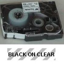 Brother TZe tape 36mmx8m sort/klar