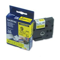 Brother TZe tape 9mmx8m sort/gul