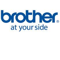 Brother TZe tape 6mmx8m flexible sort/hvid