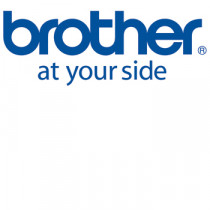 Brother TZe tape 18mmx8m flexible sort/hvid