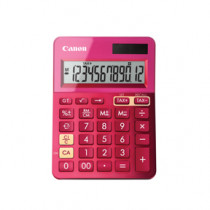 Canon LS-100K-MPK mini pocket calculator pink