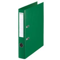 Brevordner u/metalskinne PP A4 50mm grøn