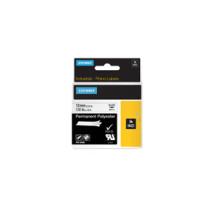 Tape Rhino 12mmx5,5m perm polyest bl/whi