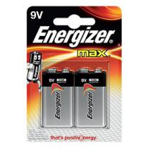 Energizer MAX 9V/6LR61 (2)