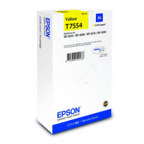 T7554 yellow ink XL