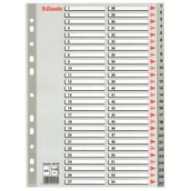 Register PP A4 1-54 grå