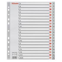 Register PP A4 maxi A-Å grå