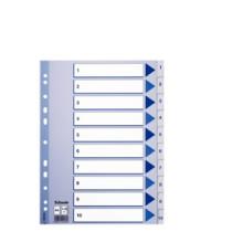 Register PP A4 1-10 hvid