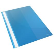 Tilbudsmappe Vivida m/lomme A4 blå (25)