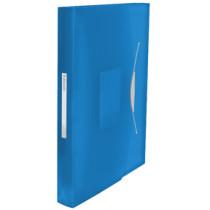 Projektmappe Vivida PP A4 blå