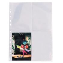 Fotolomme 80my PP glasklar 10x15 A4 (25)